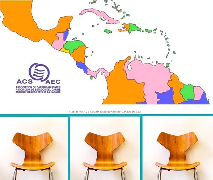 Guadeloupe, Martinique, France à l'AEC : 1 pays, 3 sièges