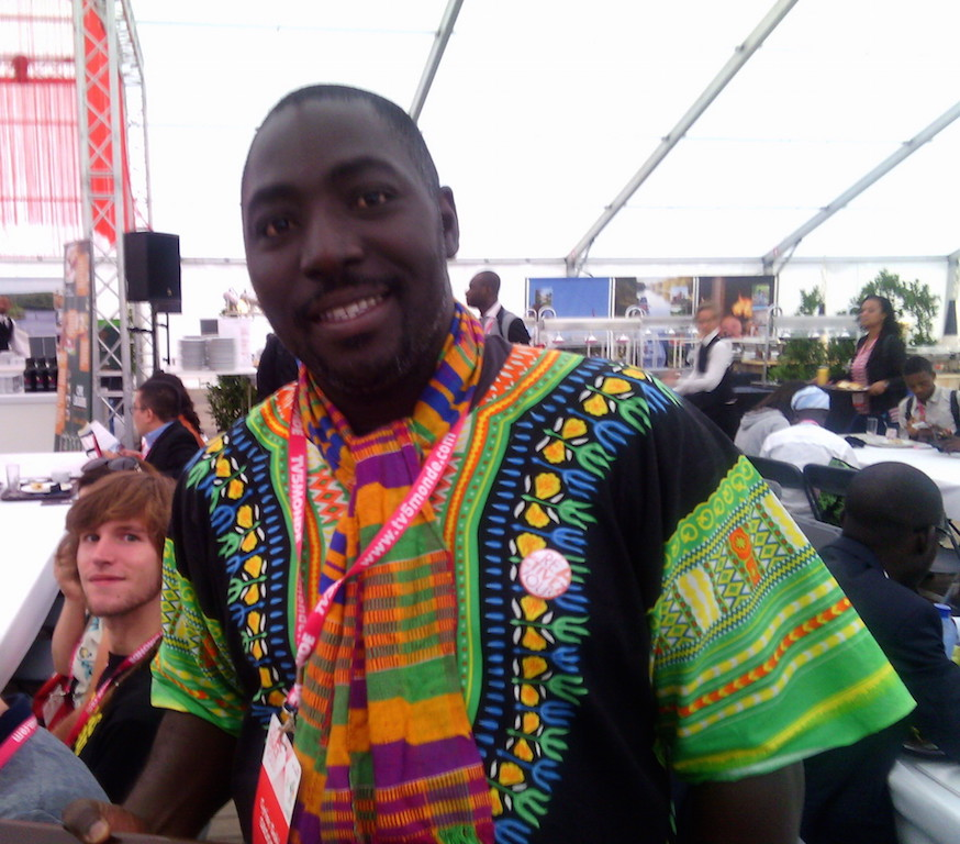 Cyriac Gbogou. Photo Mylène Colmar.