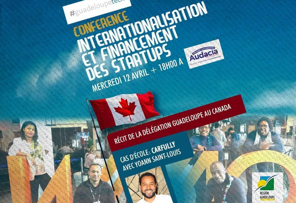 Conférence en Guadeloupe : quand Yoann Saint-Louis raconte Carfully, startup made in Caraibe