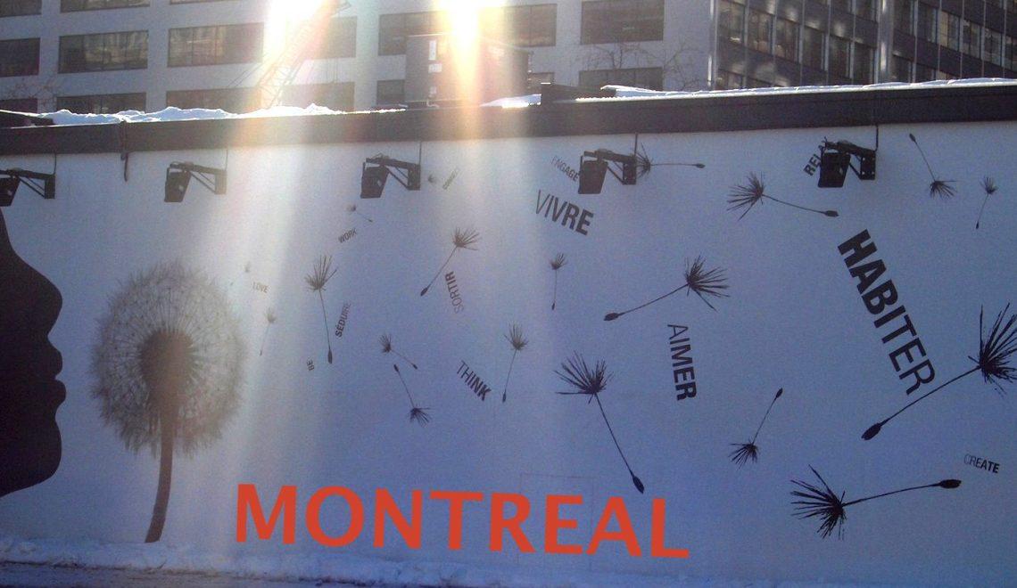 Direction Montréal !