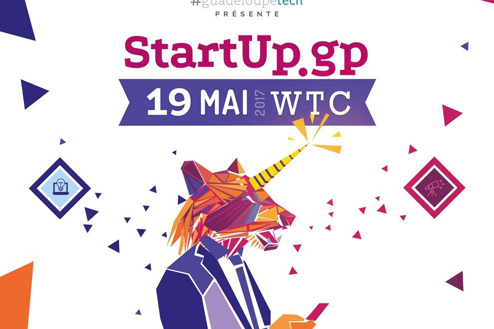 Guadeloupe : Startup.gp 4e édition, j'y serai !