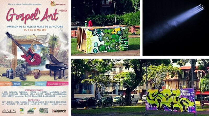 A Pointe-à-Pitre, patrimoine et street art font bon ménage