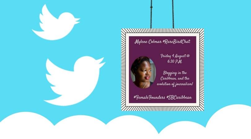 Quand Secret Birds Caribbean m'interroge sur le blogging et la presse dans la Caraibe sur Twitter