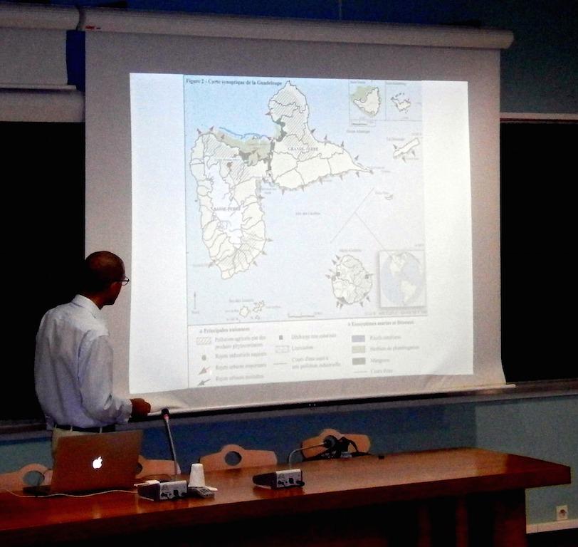 En carte, les nombreux points de pression sur les espaces côtiers de Guadeloupe