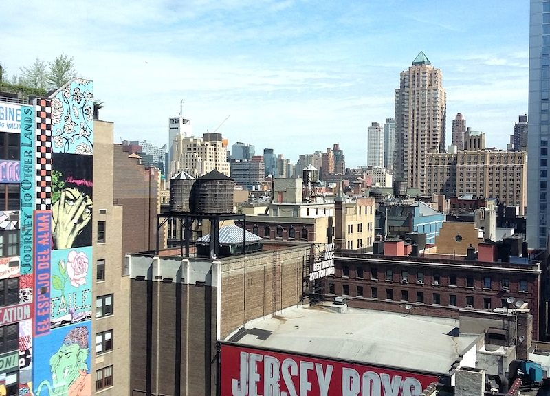 En balade à New-York