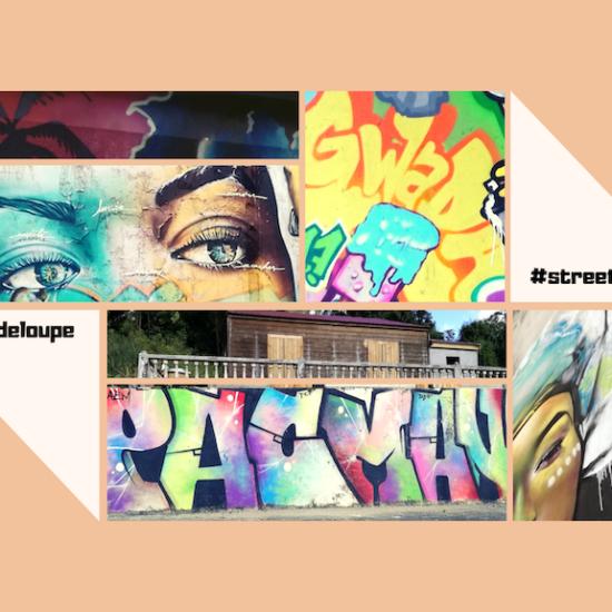 Street art en Guadeloupe : 10 oeuvres jolies et colorées