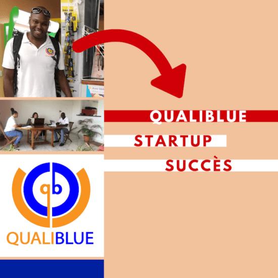 Startup à succès : et Qualiblue lança son app et traversa l'océan