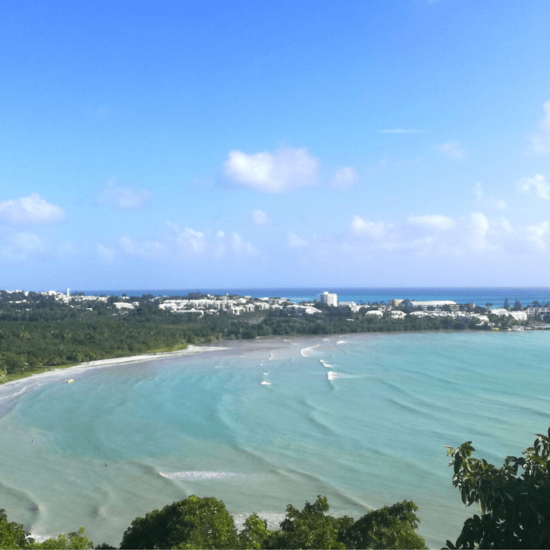 Guadeloupe : ciel + nature, ce duo gagnant