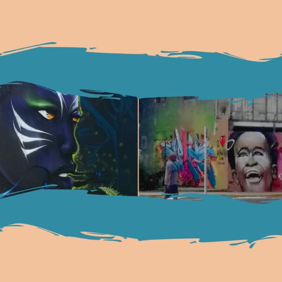 Street art en Guadeloupe : 2 villes, 2 fresques, 2 univers