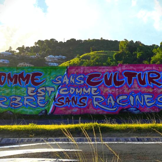 Street art en Guadeloupe : une si gigantesque et si inspirante fresque