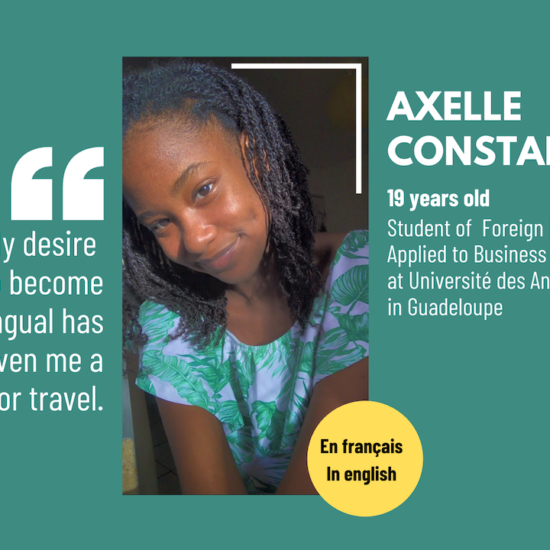 #SoCaribbean: Axelle Constantin, 19, a student with great potential