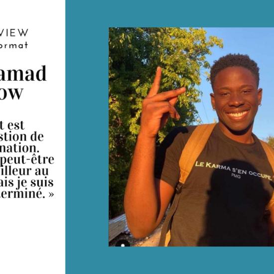 Interview MAXI format : Marvin Kancel, aka Le Mamad Show, comique mais (vraiment) pas que…