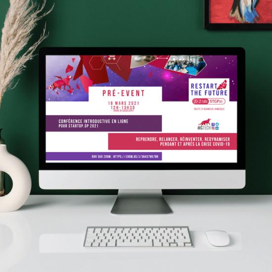 A venir : la conférence en ligne pour préparer Startup.gp 2021 de GuadeloupeTech
